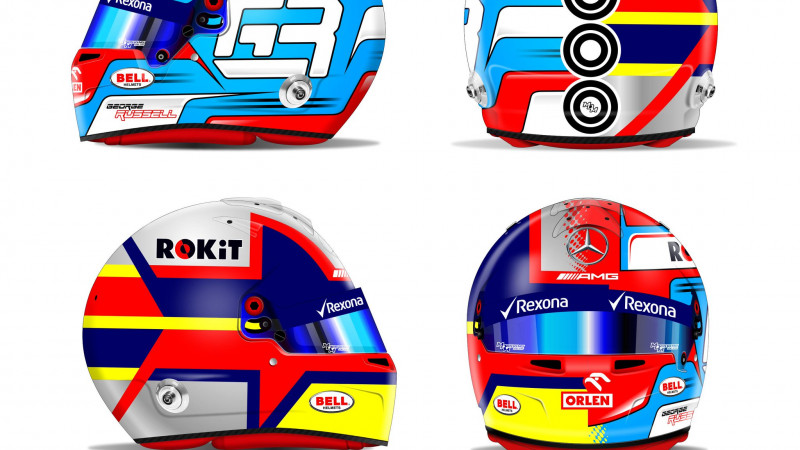 Thumbnail for Behind the Design of George Russell's Special Edition Helmet