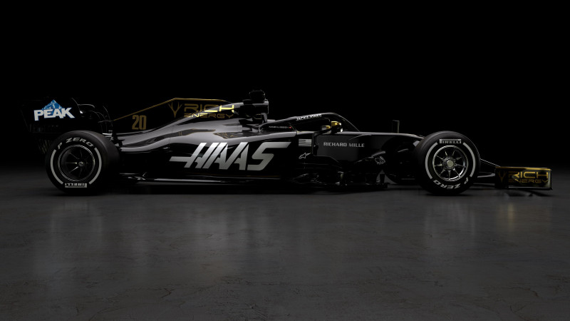 Thumbnail for Exclusive: Behind Haas' All-New 2019 Livery