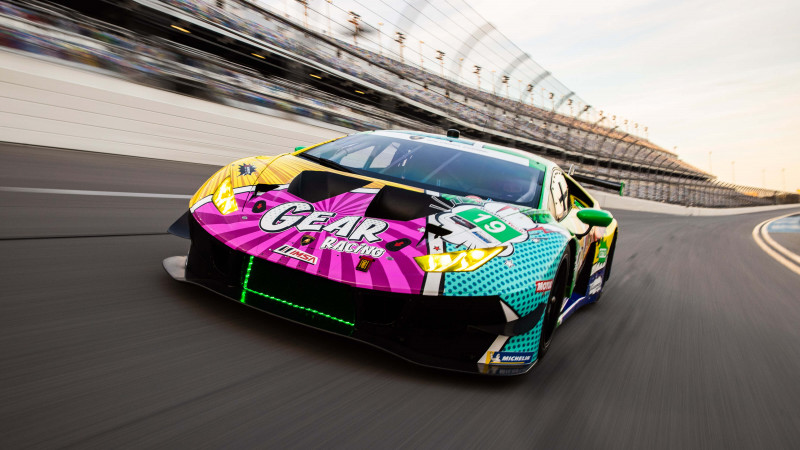 Thumbnail for GEAR Racing's Pop-Art Livery