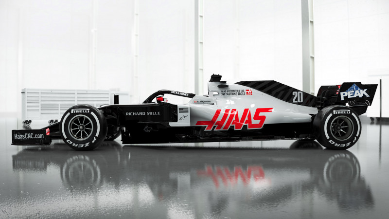 Thumbnail for Haas F1's 2020 Livery