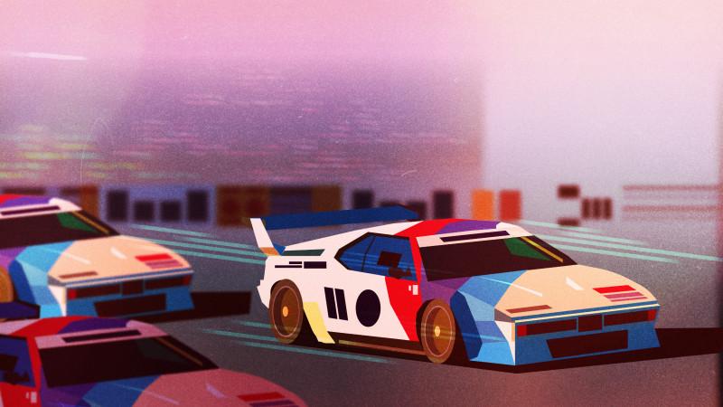 "Thumbnail for James Gilleard's ""Fast Forward"" Illustrations"