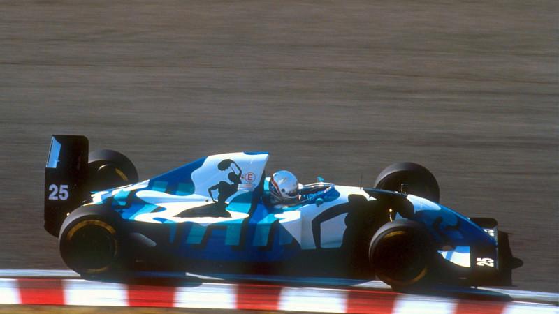 Thumbnail for Ligier's Special Gitanes Livery