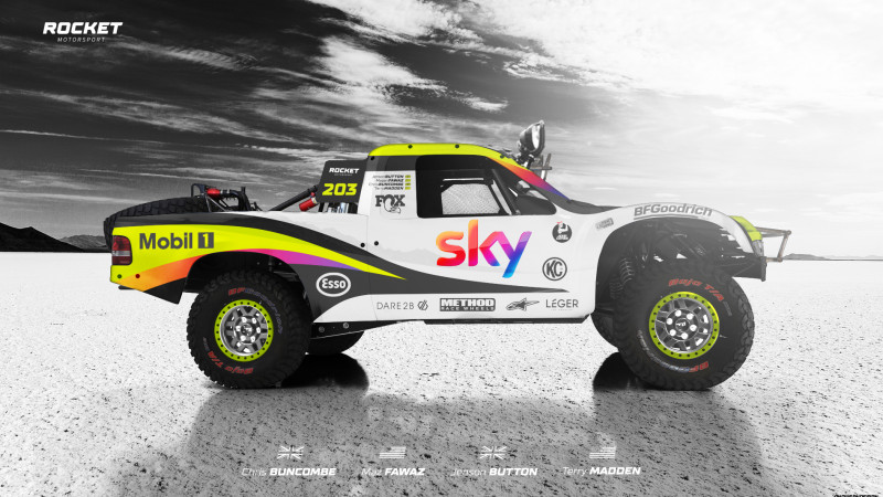 Thumbnail for Rocket Motorsport's Brawn-Esque Branding